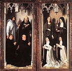 Altarpiece Wall Art - St John Altarpiece [detail 10, closed]